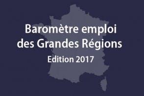 Baromètre emploi Grandes régions 2017